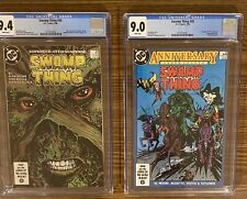 SWAMP THING #49 & #50 Lot Of 2 CGC 9.4 And 9.0 1st App JUSTICE LEAGUE DARK !