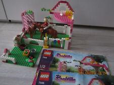 LEGO Belville Pferdestall (7585), Pferd, Fohlen, Reiterin, Friends BA