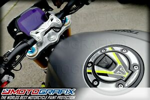 Triumph Speed Triple 1200 RS 2021 Petrol Fuel Gas Cap Cover Gel Protection Decal