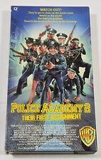 Police Academy 2 - Their First Assignment VHS 1993 Steve Guttenberg