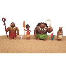 BULLYLAND 13182 GIOCO SET PERSONAGGI WALT DISNEY Vaiana Maui Hawaii MOANA figure