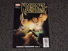 MARVEL COMIC WOLVERINE COYOTE CROSSING PART 4