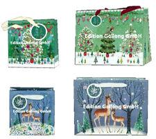 MILA MARQUIS*Geschenktüte*Geschenktasche*Weihnachten*Rehe*Tannenbaum*.