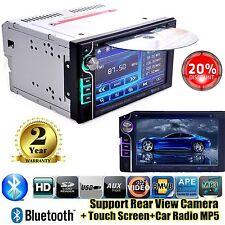 "6.2"" Autoradio 2Din Bluetooth Stereo car Touch Screen Radio DVD CD MP5 Player De"
