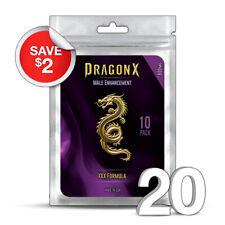 20 DRAGON X Male Enhancement Sex Pills for EXTREME ENHANCEMENT