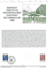 DOCUMENT PHILATÉLIQUE - YT 2214 - 1er JOUR 1982