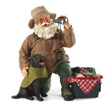 Clothtique Possible Dreams *The Great Outdoors* Santa and His Dog go Camping