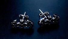 NEW! DC Comics Batman Earrings Ear Rings Mini Small Batman Icon Symbol Logo