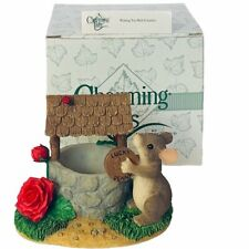 Charming Tails figurine fitz floyd Box mouse anthropomorphic Wishing you well
