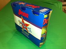 9 New Penn Jimmy Connors Tennis Balls - 3 sealed containers of 3 - vintage