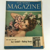 VTG Star Weekly Magazine December 7 1957 Actress Carole Lombard Cover, Newsstand