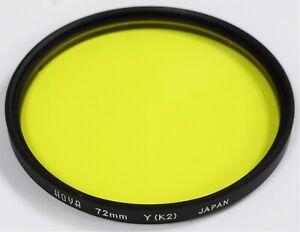 Hoya 72mm Yellow K2 Lens Filter