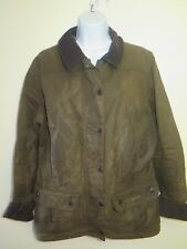 Barbour L1650 Ladies Utility Jacket Waxed Cotton UK 14 Euro 40 in Sage