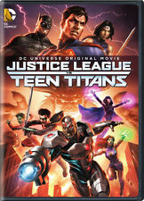 Justice League Vs Teen Titans (2016, REGION 1 DVD New)