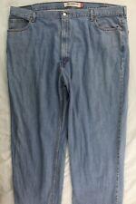 Levis 550 Relaxed Fit Blue Denim Jeans Label 48x30 Meas 48x30