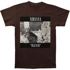 NIRVANA - Bleach BROWN T-shirt - Size Extra Large XL - NEW - Grunge Kurt Cobain