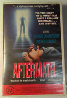 Aftermath VHS 1991 Drama Glenn Jordan Original Interscope / Satellite Video
