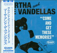 MARTHA AND THE VANDELLAS-COME AND GET THESE...-JAPAN MINI LP CD BONUS TRACK C94