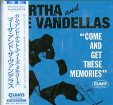 MARTHA AND THE VANDELLAS-COME AND GET THESE...-JAPAN MINI LP CD BONUS TRACK C94