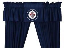 NEW WINNIPEG JETS NHL Jersey Window Valance