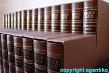 Brockhaus Enzyklopädie 19.Auflage ECHTLEDER NP 9.552DM
