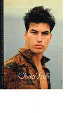 PUBLICITE ADVERTISING  1990   OLIVIER STRELLI   haute couture