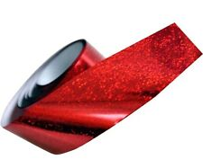 MAGIC TRANSFERFOLIE NAILART RED GLITTER