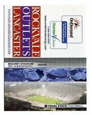 BEAVER STADIUM 2010 Penn State Football Schedule FULL SIZED