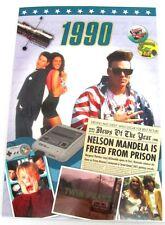 24166 1990 DVD CARD BIRTHDAY GREETING CARD HISTORY DVD MEMORY SPECIAL KEEPSAKE