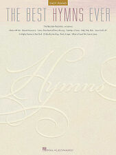 BEST HYMNS EVER EASY PIANO SHEET MUSIC SONG BOOK