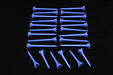 "Performance Plastic GOLF TEES Combo pack (2.75"" & 1.75"") LOT of 24 - NEON BLUE"