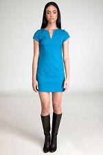 Diane von Furstenberg Valda Turquoise Dress 12 US