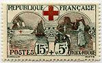 """FRANCE N°156 """"AU PROFIT DE LA CROIX ROUGE, 15 C + 5 C"""" NEUF xTB"""