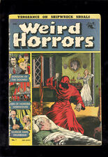 Weird Horrors # 1 in G-VG condition