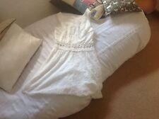 AX Paris beautiful ivory/ cream/ white  dress size 12