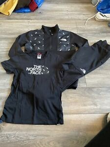 Boys The North Face Tracksuit Medium