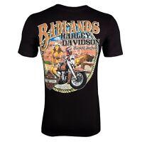 Badlands Harley-Davidson® Cowgirl Pinup Short Sleeve T-Shirt