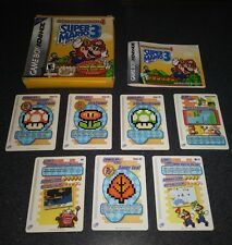 Super Mario Advance 4: Super Mario Bros. 3 (Game Boy Advance) e-Reader Cards