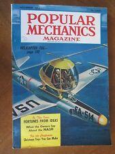 POPULAR MECHANICS November 1953 Helicopter tug STAR HUNTING & RADIO
