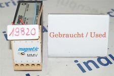 Magnetic Autocontrol Mmv MMV1A-100 Moudre Dispositif D'Evaluation