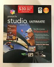 Pinnacle Studio Ultimate Version 12 Movie Software Sealed