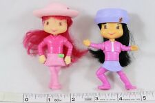 STRAWBERRY SHORTCAKE Ginger Snap Dolls McDonalds Happy Meal Toys 2007