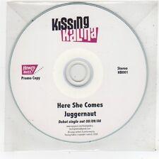 (FU105) Kissing Kalina, Here She Comes / Juggernaut - 2008 DJ CD