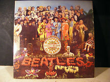1967 BEATLES Sgt PEPPER LONELY HEARTS CLUB BAND, PARLOPHONE XEX.637 PMC 7027 KT