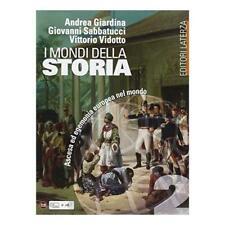 Mondi della Storia vol.2 Editore LaTerza scuola Giardina/Sabatucci 9788842112785