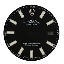 New Original Rolex Black Index Dial for Datejust II 41MM 116300 & 116334 Watch