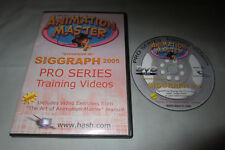 Martin Hash's Animation Master Pro Series Training Videos Siggraph 2005 DVD-ROM