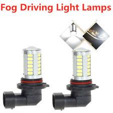 2x 9006 HB4 6000K White 55W High Power 33 SMD LED Fog Lights Driving Bulb DRL
