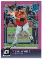 2016 Donruss Optic Rated Rookies Pink Refractor #51 Tyler White Astros