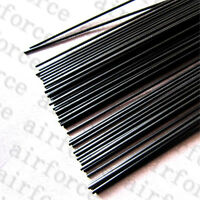 5PCS 3.5mm x 500mm carbon fiber rods For RC Airplane Strengthen Rods DIY Kits